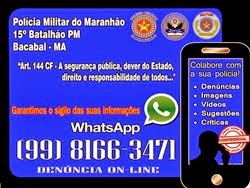 WHATSAPP DO 15º BATALHÃO DA PM