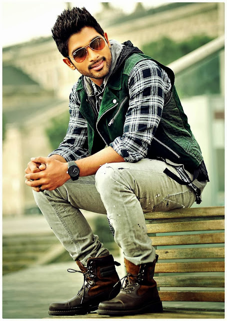 Allu Arjun Stylish in Romeo and Juliets
