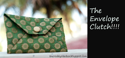 envelope clutch free pattern