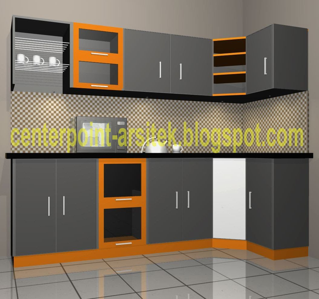 Almira interior design kitchen set for Kitchen setting pictures