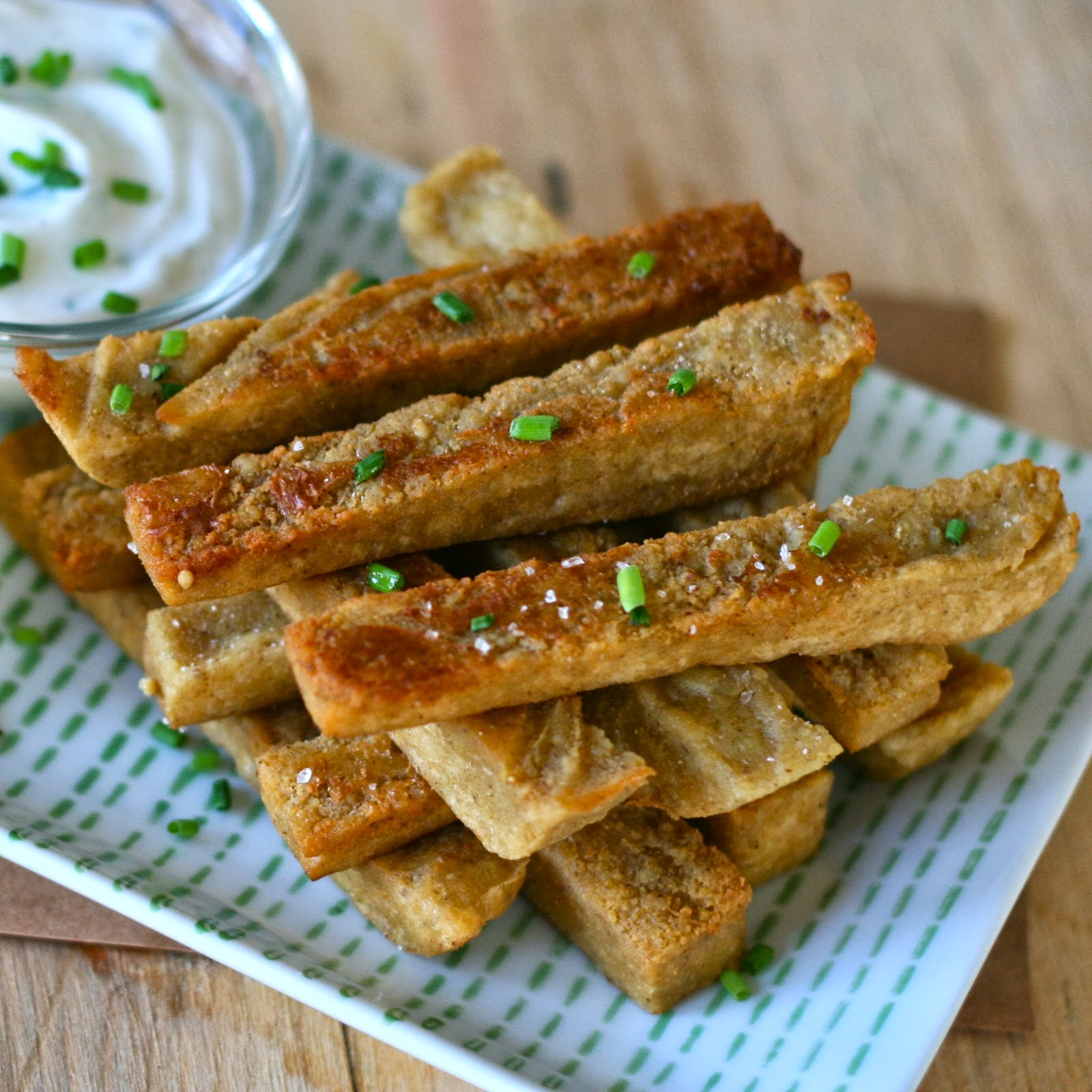 is for: Za'atar Chickpea Fries