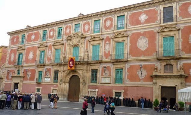 Palacio Episcopal de Murcia.