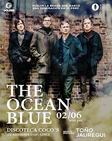 THE OCEAN BLUE (3ra VEZ) DISCOTECA COCO´S. 2 DE JUNIO 2016