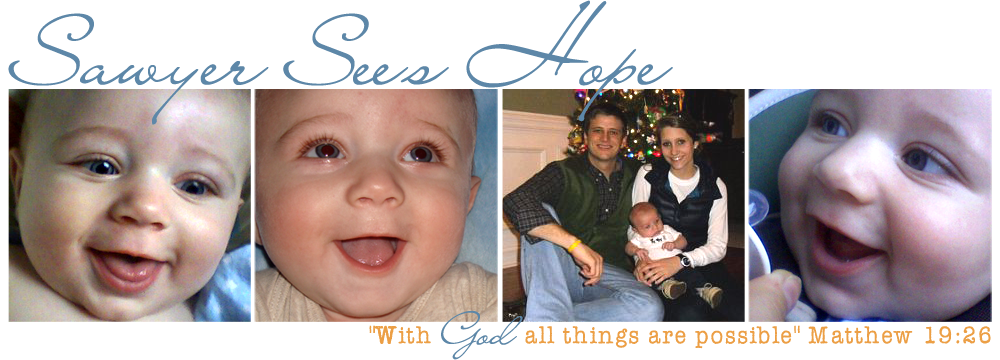 Sawyer See's Hope