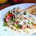 Cheesy Egg White Omelette with Peppers and Mushrooms