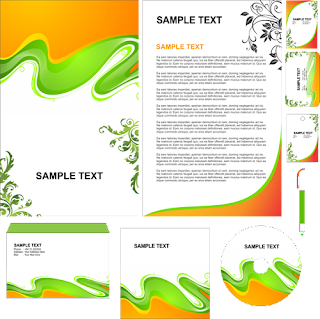 Contoh Simple Stationary Green (cdr Format)
