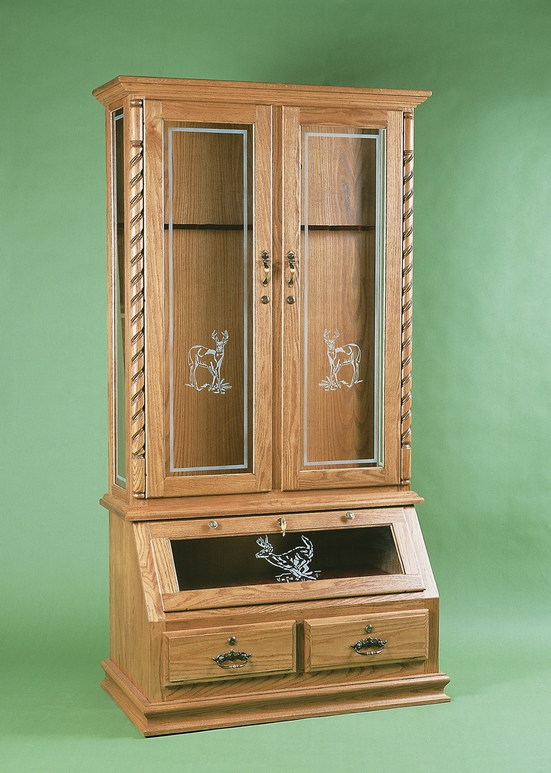 Hidden wood gun cabinet plans woodwork for Wood cabinets
