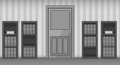 Grayscale Escape Series Puzzle Room