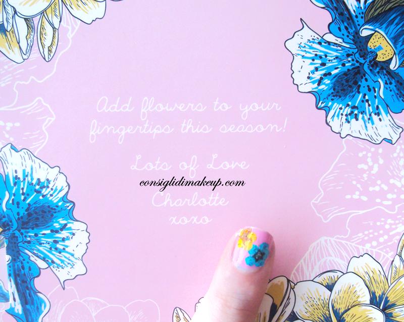 NOTD: Flower Manicure - Ciatè