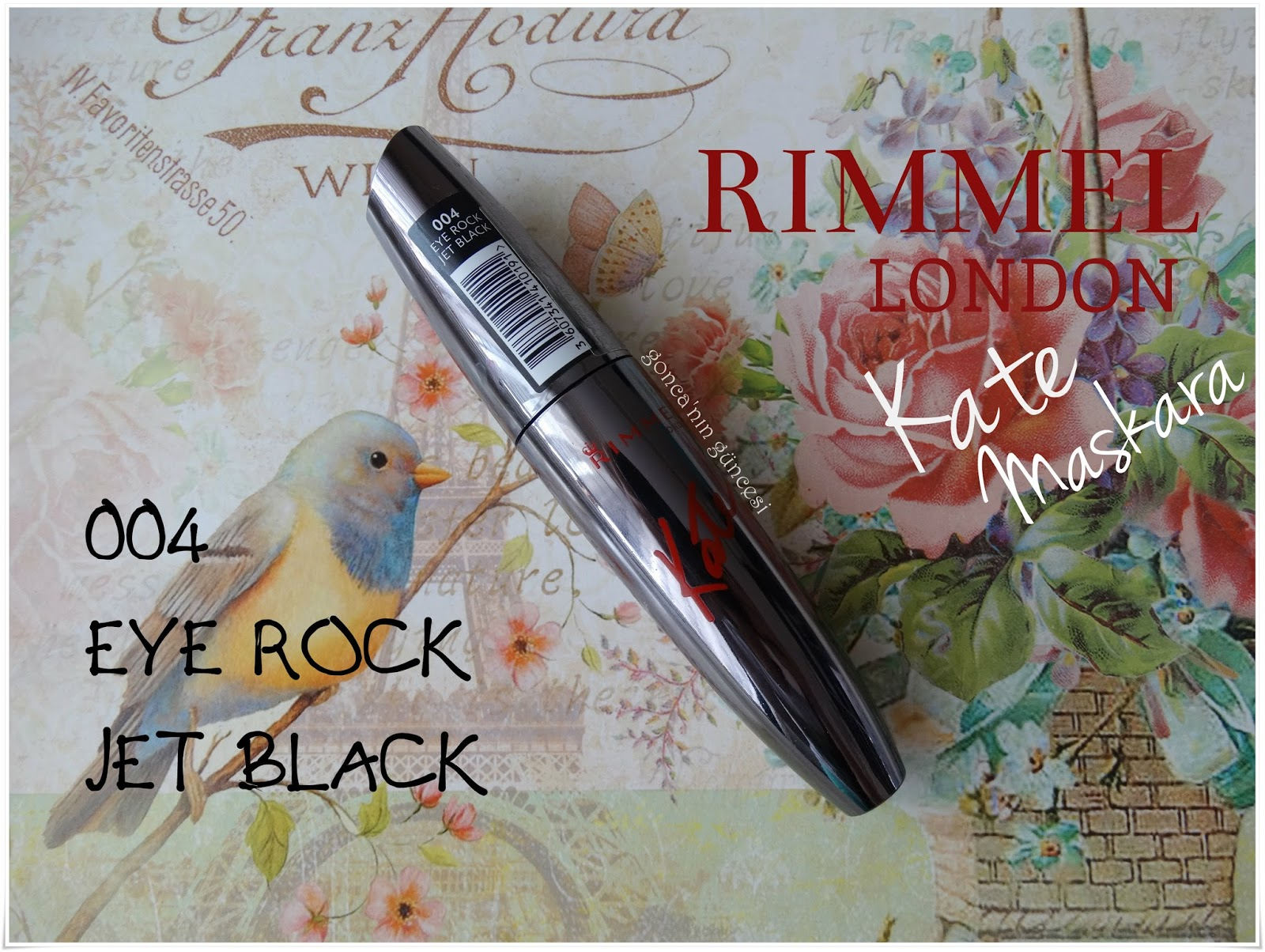 Rimmel London Kate Maskara // 004 Eye Rock Jet Black