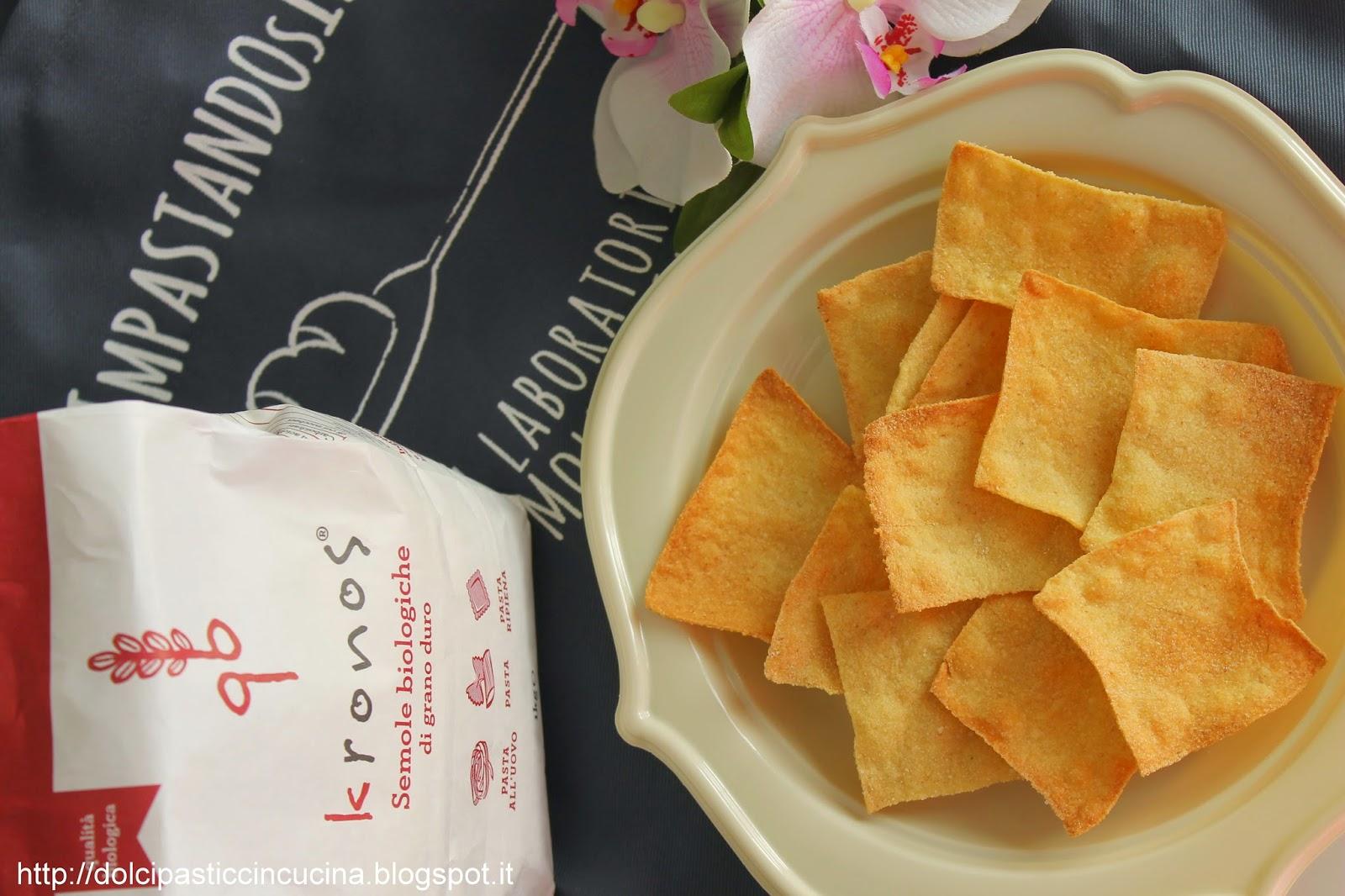 aperitivo sfizioso con i crackers di semola!