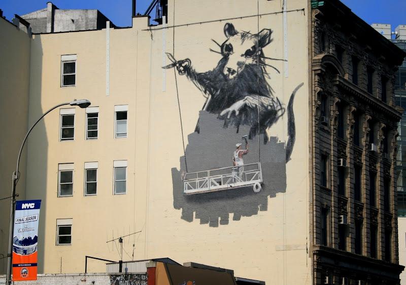 De otros mundos Banksy  El grafitero ms famoso del mundo