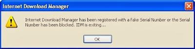 "Cara Menghilangkan ""Fake Serial""  (IDM)"