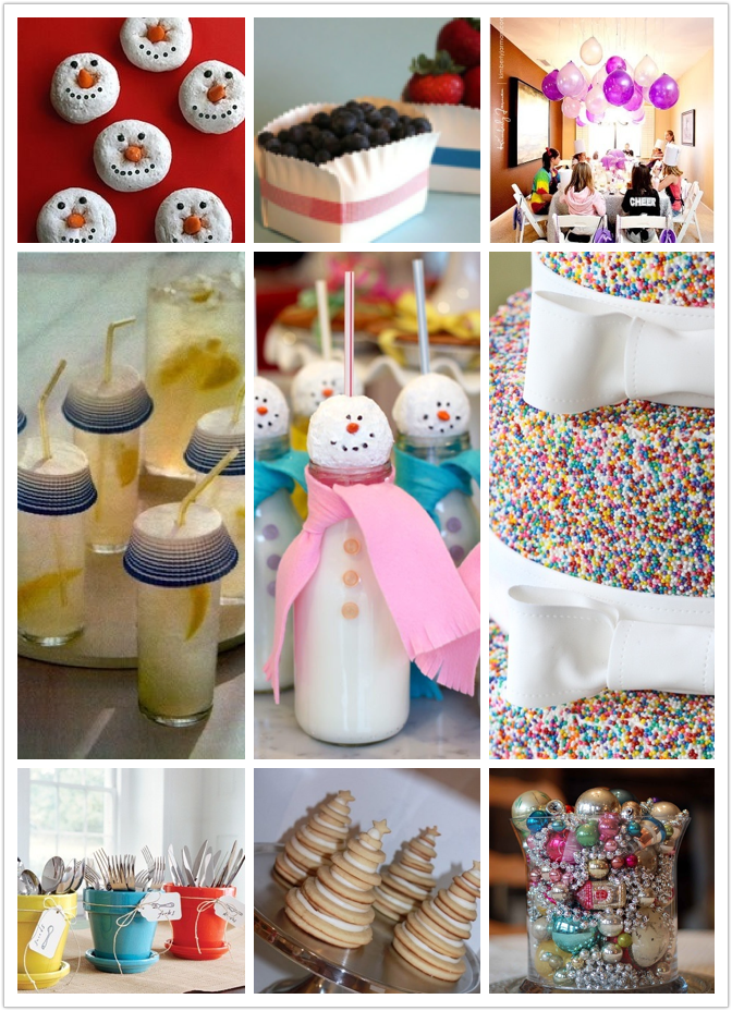 The handmade movement last minute x 39 mas parties ideas for Last minute party ideas