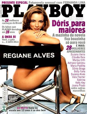 Regiane Alves Pelada Na Playboy