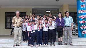 Học sinh Giỏi lớp 5 tham gia thi cấp thị xã