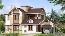 2400 Sq-ft House Design - Kerala Home And Floor