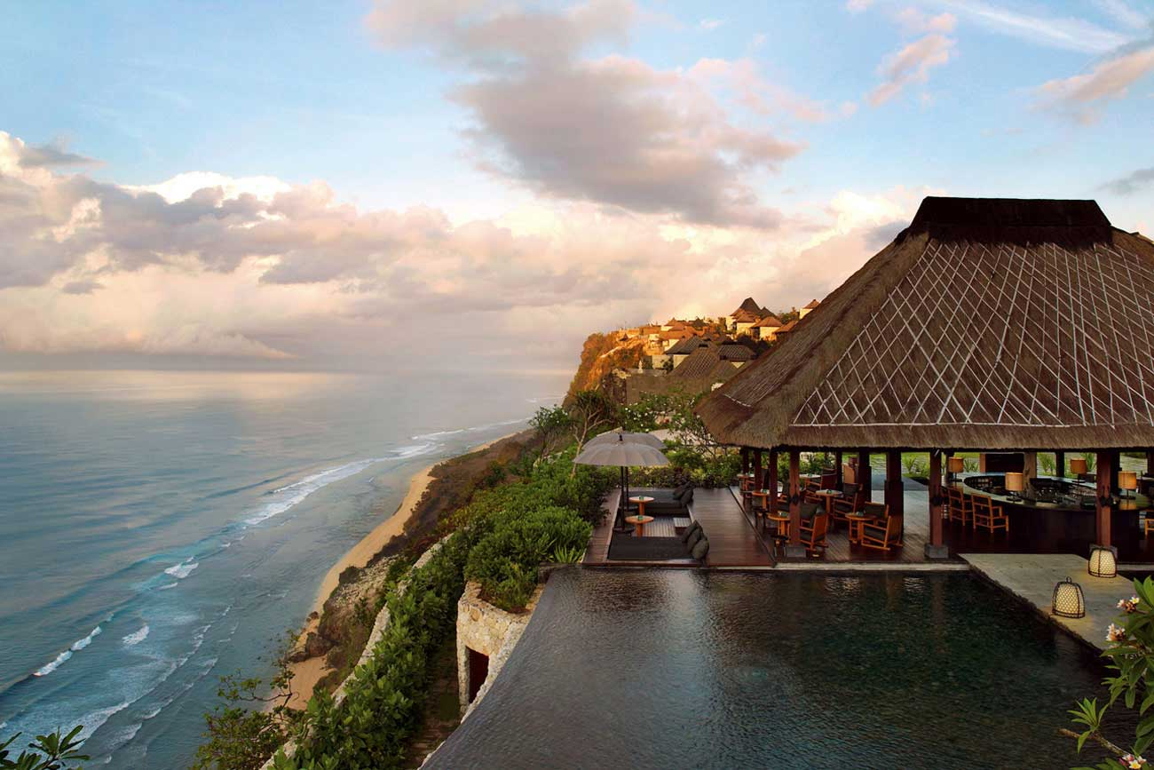 Travel my way indonesia bali bulgari resort villa for The bali hotel