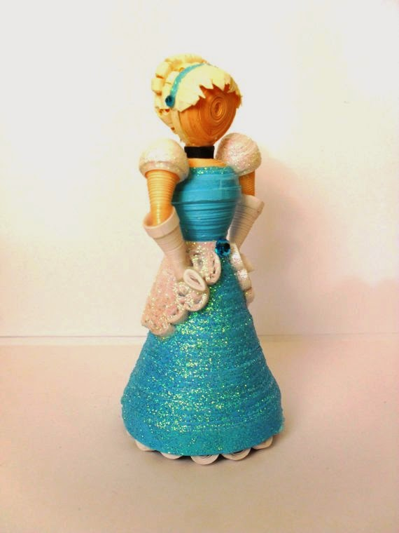 3d paper quilling disney characters art projects art ideas for Paper quilling art projects