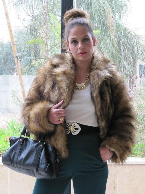בלוג אופנה Vered'Style חורף בחוץ...