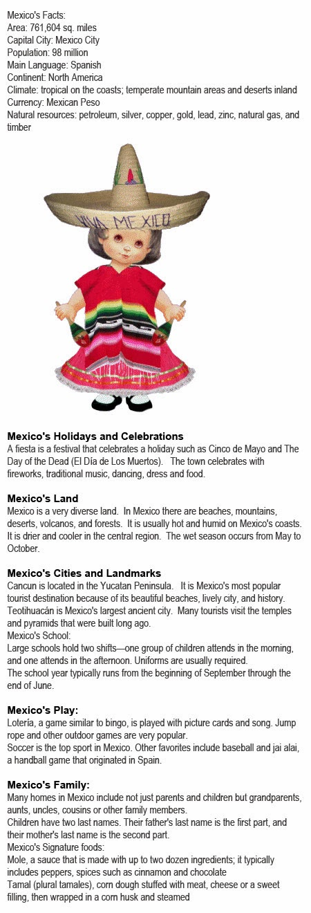 Mexico information for kids