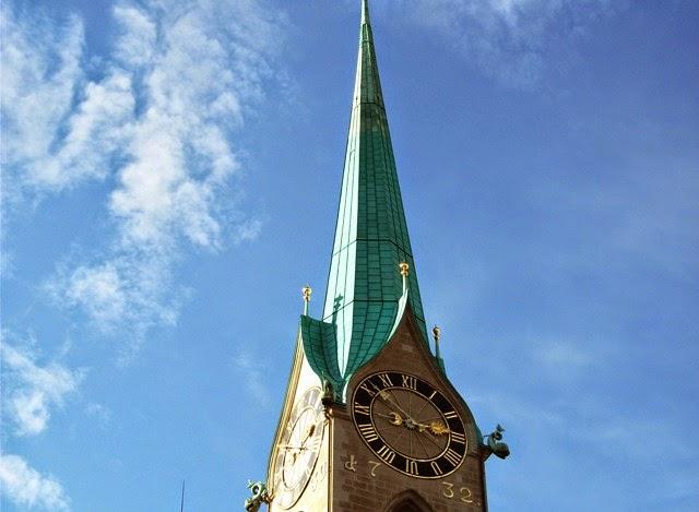 Fraumunster Ikon Kota Zurich