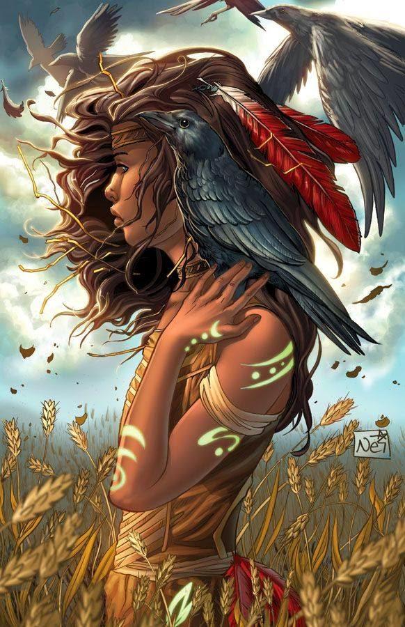 Goddess Raven