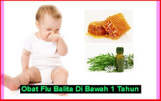 Obat Flu Balita Di Bawah 1 Tahun