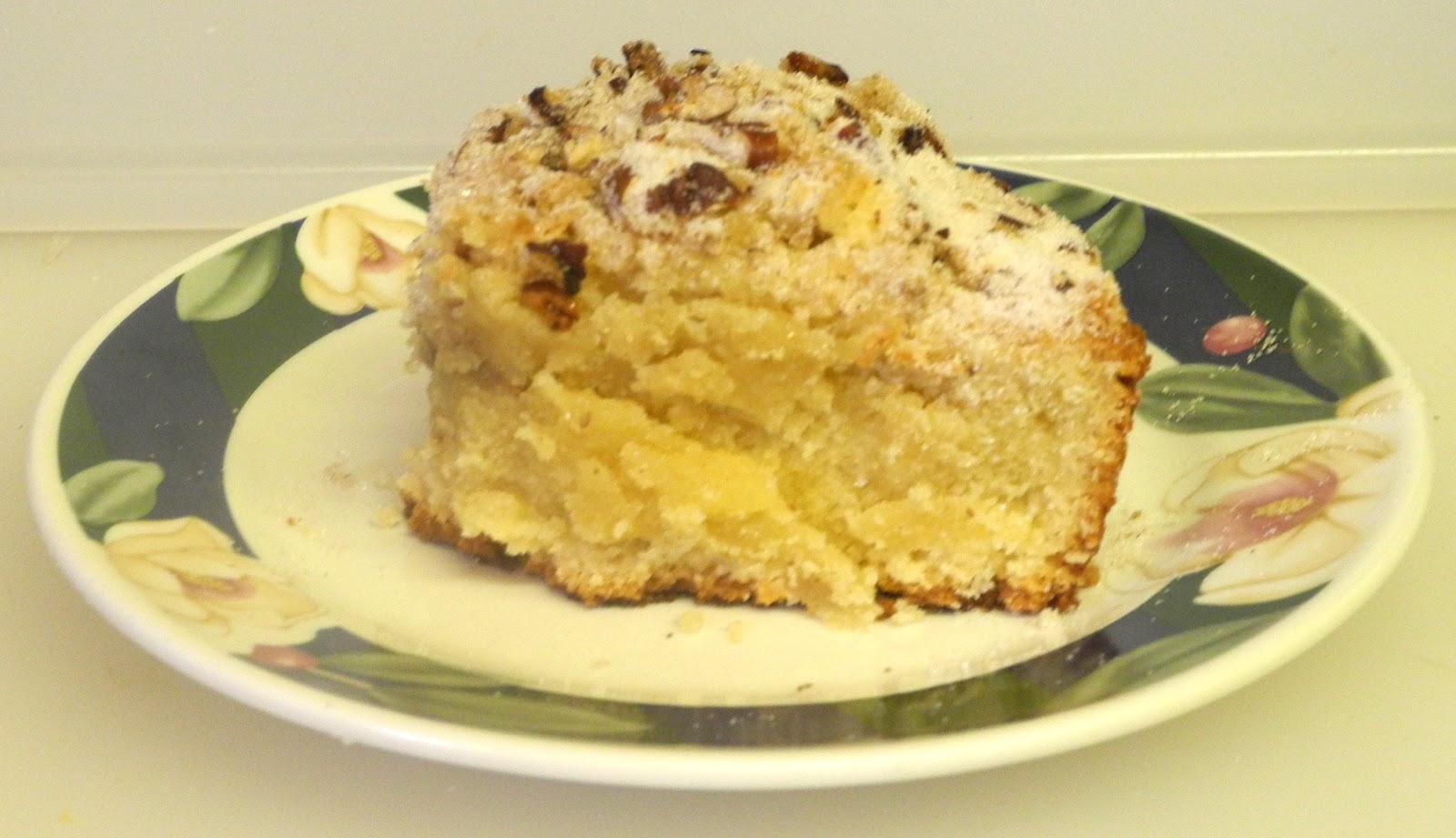 Blueberry Sour Cream Cake Nz