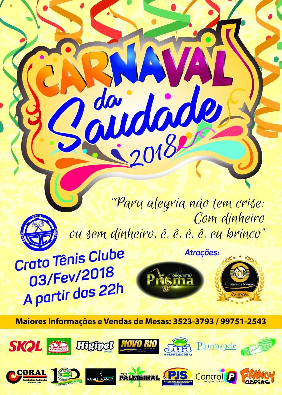 CARNAVAL DA SAUDADE!