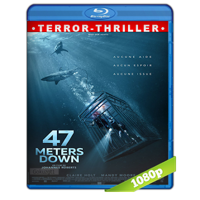 Terror A 47 Metros (2017) BRRip Full 1080p Audio Trial Latino-Castellano-Ingles 5.1