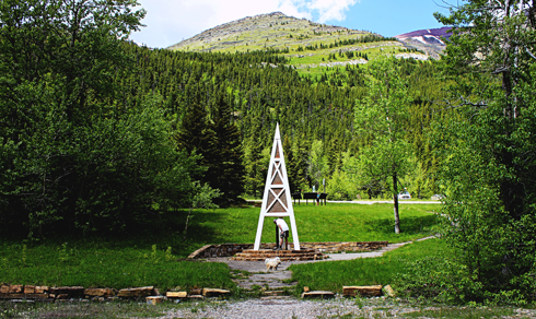 first oil well in western canada alberta travel photography series