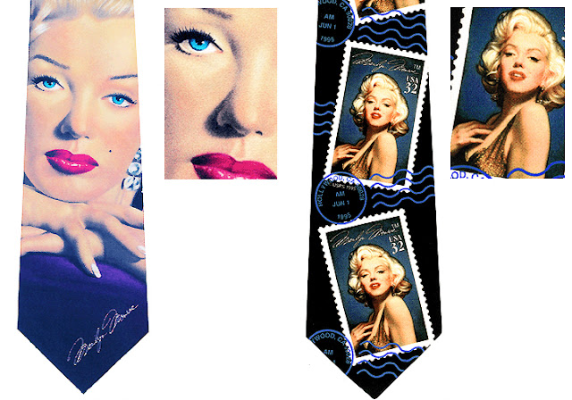 Official Licensed Marilyn Monroe Collector Ties