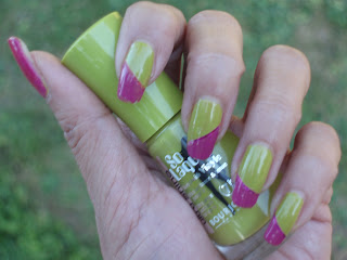 NOTD: Bourjois Lime Catwalk