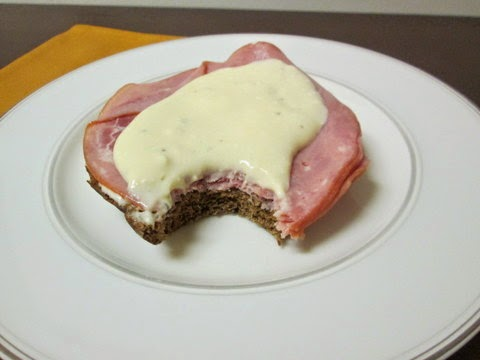 ham and beer cheese sandwich