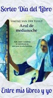 Sorteo Día del Libro - Azul de medianoche de Simone Van der Vlugt