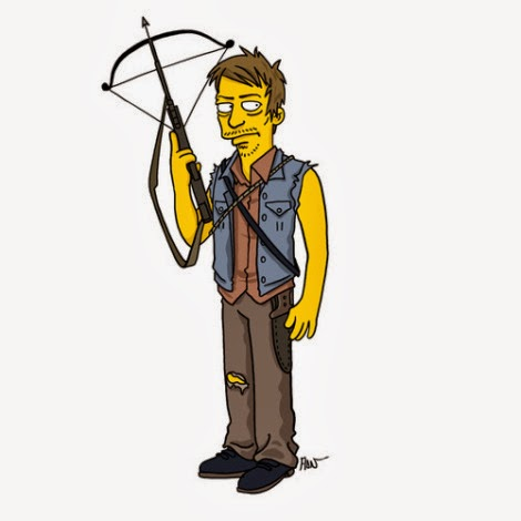 The Walking Dead a Springfield - Daryl