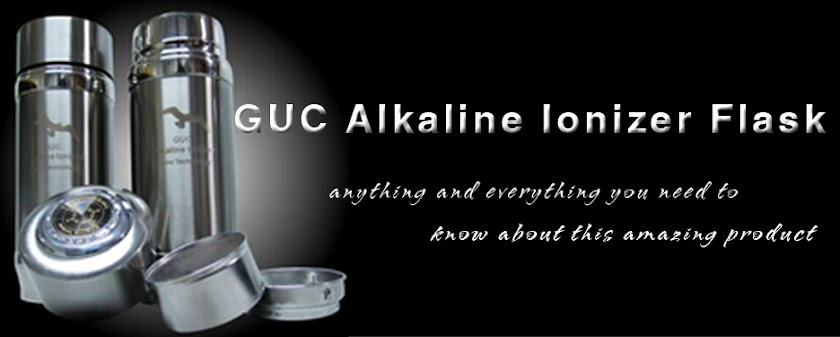 GUC Alkaline Ionizer Flask