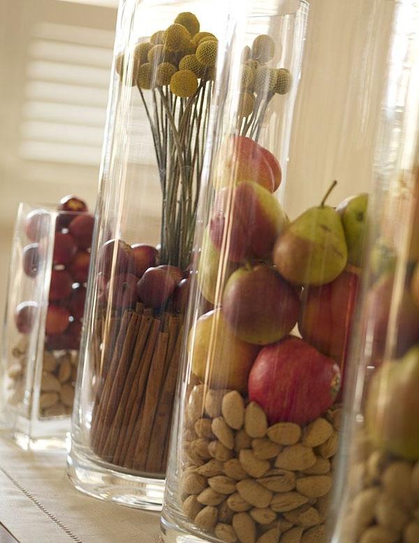 Floreros de vidrio para centros de mesa lodijoella for Decorar jarrones de cristal