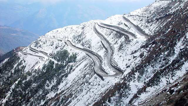 Jalan Pegunungan Himalaya, Asia Selatan