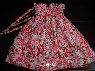 baby shirred dress