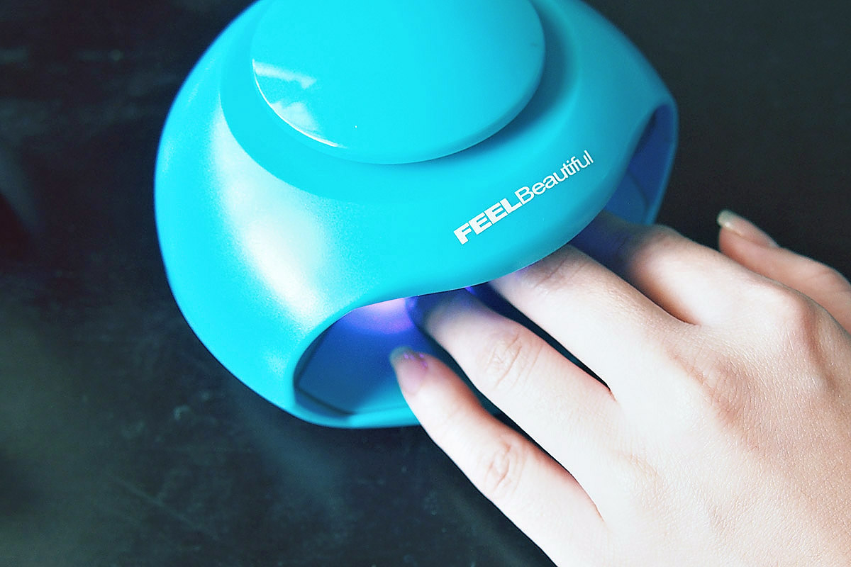 lazada order feelbeautiful uv light nail dryer review there s