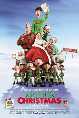 Arthur Christmas movie poster film review