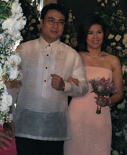 Lani Mercado and Bong Revilla