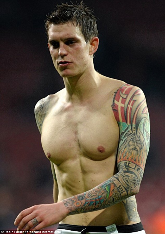 Hair &amp Tattoo Lifestyle Daniel Agger Pictures