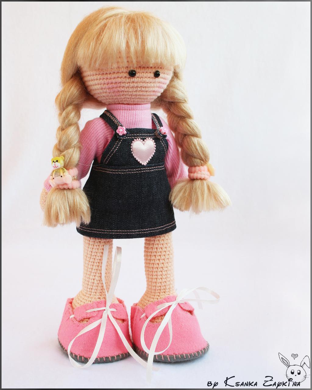 Мастер-классы для вязания амигуруми-куклы 42