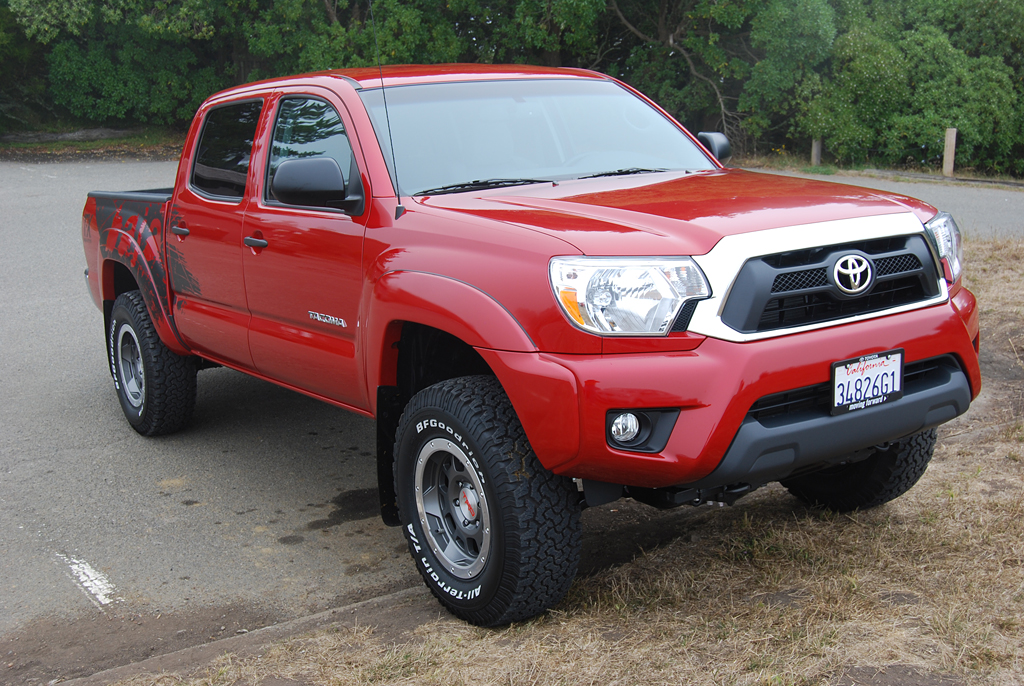 biggest tire size toyota tacoma autos post. Black Bedroom Furniture Sets. Home Design Ideas