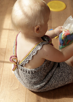 free crochet pattern baby summer dress