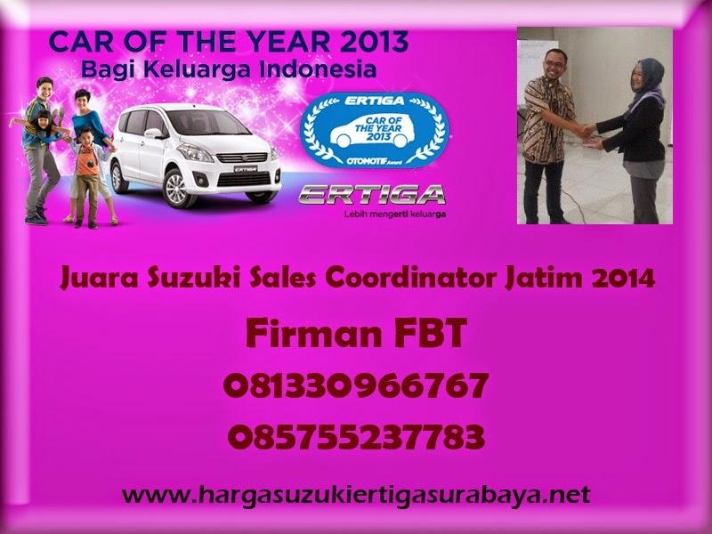 Harga OTR Suzuki Ertiga UMC Dan SBT Surabaya Sidoarjo Bangkalan Pamekasan Hubungi Firman FBT 085755237783