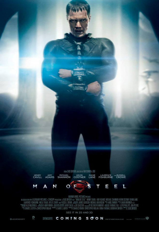 Man of Steel: Zod poster